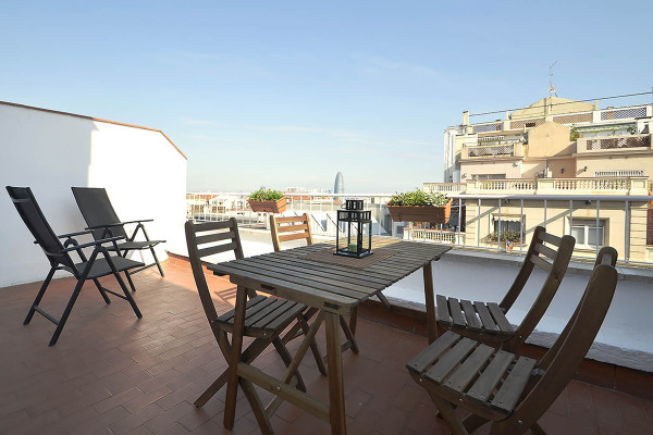 Photo gallery 7: <br>in balconies, terraces and backyards